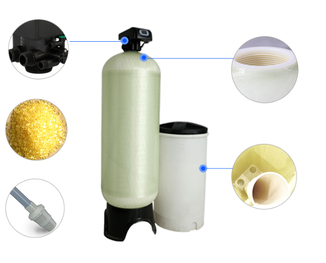 Automatic Control Industtrial Water Softener Equipment -1