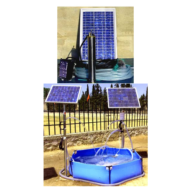 Portable or fix solar water pumping system full kit