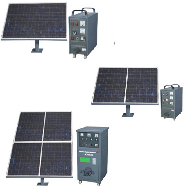 Solar power generators SG300-SG500 serials with max.output 2600Wh/day
