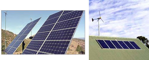 Systems-Dual Wind & solar power systems—Synergy 2