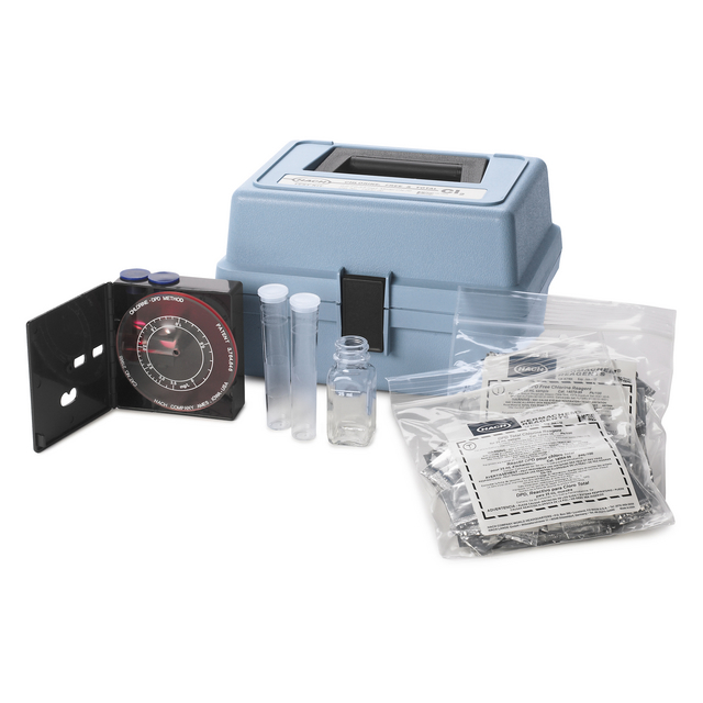 Chlorine (Free and Total) Test Kit, Model CN-70