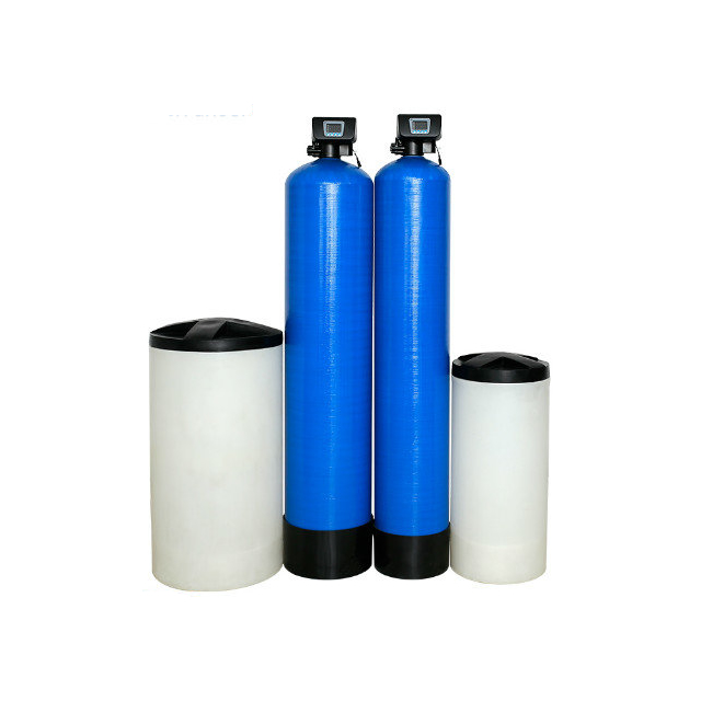 Ion Exchange Water Treatment System For Well Water Treatment Hardness Softened