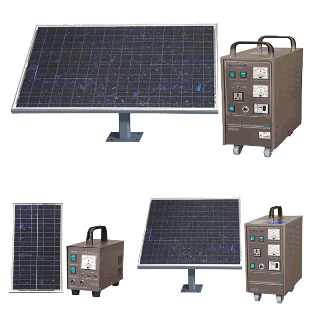 Solar power generators SG60-SG150 serials with max.output 650Wh/day