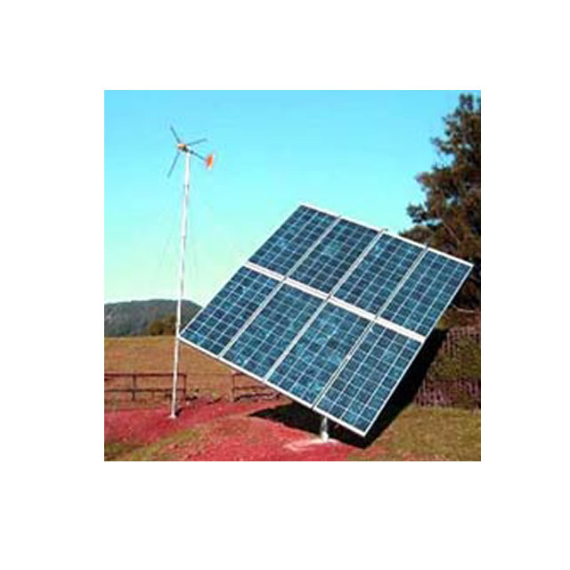 Systems: Dual Wind & solar power systems—Synergy